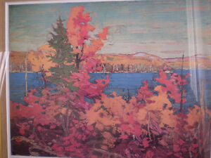 "Tom Thomson - "" Autumn Foliage ""-  Limited Edition Print - Kitchener / Waterloo Kitchener Area image 9"