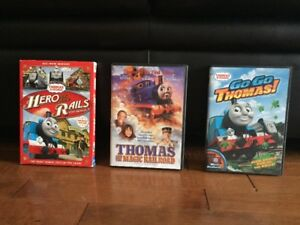 Thomas the train dvd movie collection