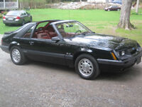 1986 FORD MUSTANG GT T-TOP A/C