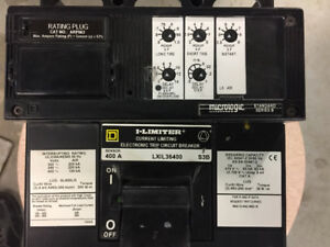 Schneider Electric Square D LXIL36400S3B 400 amps Circuit