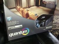"Quantum QX550 LED Projector & 72"" Screen BNIB"