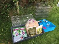 Rabbit cage and accessories for sale