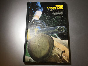 1980 McCulloch Chain Saw Book Carpentry Felling Bucking Repair