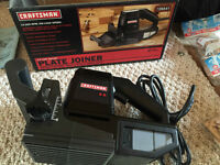 NEW!! Craftsman Plate Joiner + Biscuits