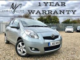2010 TOYOTA YARIS 1.33 MMT TR MULTIMODE AUTOMATIC PETROL ☆ JUST 22K MILES!