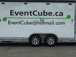 Event Cube, Mobile, top of the line Food Truck/Stage for rent