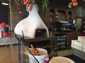 Pizza oven (indoor use) wood fired- Defra Approved no planning required