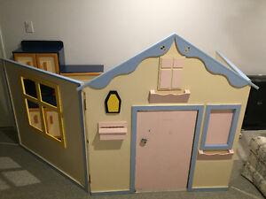 Kid's 6 piece playhouse