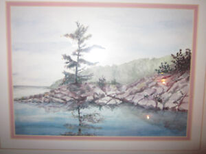 Lovely ORIGINAL Watercolour Painting Framed, Signed~Local Artist