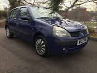 Renault Clio Expression Plus 16v 5dr PETROL MANUAL 2002/02