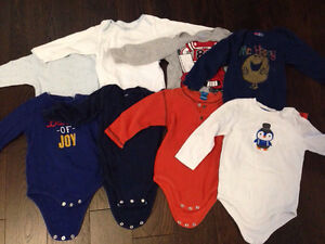 8 long sleeve onesies Kitchener / Waterloo Kitchener Area image 1