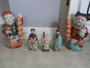 Oriental Statues/Decorations