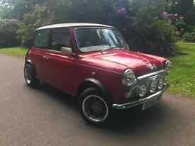 Austin Mini COOPER Conversion,53kMiles,Red faux Leather,Family Buisness Est 1996
