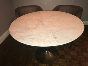 RH Restoration Hardware Dining Table & Chairs