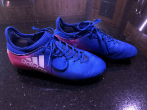 Youth Adidas Tech Fit X Soccer Cleats - Size 4.5