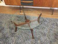 Mid century danish coffee table.