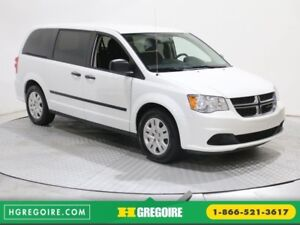 2016 Dodge GR Caravan CANADA VALUE PKG A/C GR ELECT CRUISE CONTR