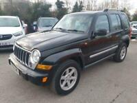 2006 Jeep Cherokee 2.8 TD Limited 4x4 5dr SUV Diesel Automatic