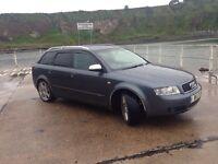 Audi A4 Avante 1.9TDI - Long MOT