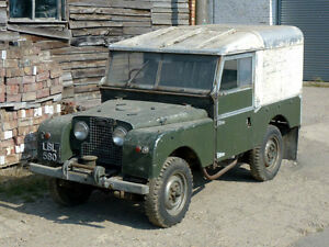 Looking for old Land Rover 1950s and 1960s