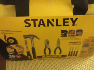 Tool Kit - NEW - Stanley - Home & Apt - 38 pieces - $15