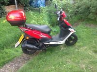 Honley Oliver 110 CC 2014 LOW MILES 2900