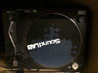 2 Soundlab Decks and Gemini Mixer Turntables