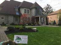 Sod, Grass Replacement, Full Lawn Service, Soil, Mulch, Cleanup