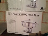 Brand new chafing dish for sale
