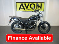 Lexmoto ZSB 125cc Learner Legal Commuter Motorcycle / Motorbike