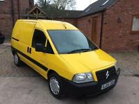 2004 Citroen Dispatch 2.0 HDI in Yellow ** NO VAT TO PAY **