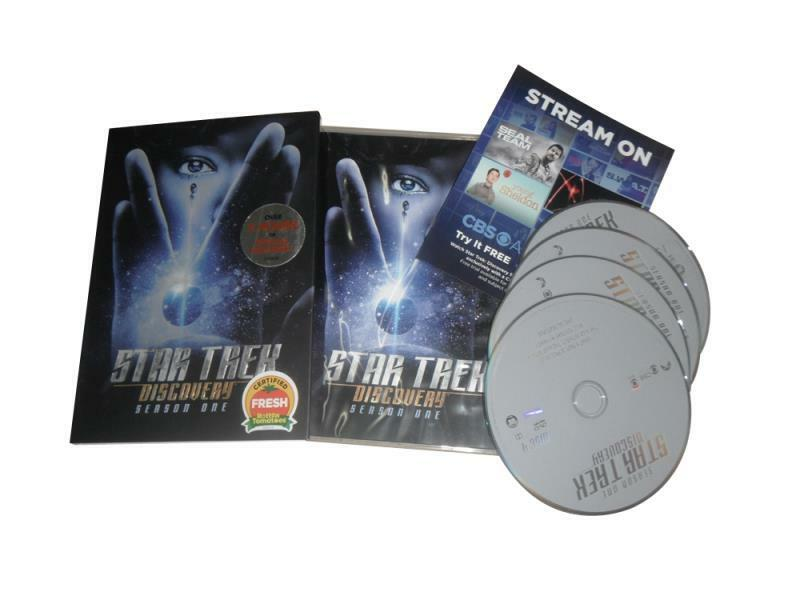 Купить Star Trek  Discovery: The First Season One 1 (DVD, 4-Disc Set) New Free Shipping
