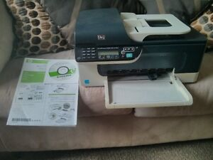 HP J4580 All-In-One Printer Scanner Copier Fax