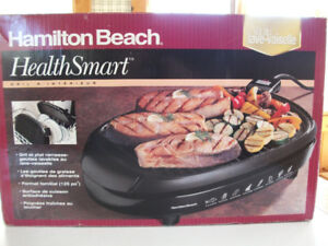 Electric cooking grill / plate