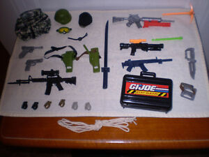 GI Joe Hall of Fame Mission Gear.