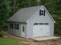 Garage Sheds and Porches