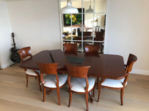 Solid Maple Dining Set – Made in Canada by ABACUS