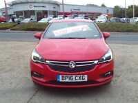 2016 Vauxhall Astra 5dr 1.0t 105ps Sri Nav Ecotec Ss 5 door Hatchback
