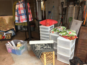 "A ""I'm moving"" garage sale  with fun finds for everyone"