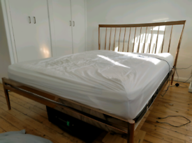 King Size Copper Metal Bed Frame from Dreams