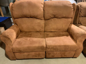 Loveseat and single seater- Recliner