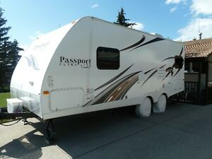 passport 234QB by keystone trailer ultra lite