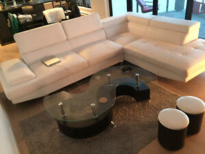 Sectional,Coffee Table,BBQ, 2 BedFrames,Mattress,2 Lamps,Cabinet