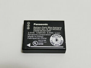Batterie Panasonic Lumix DMW-BCM13 pour appareil photo