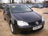 Volkswagen Golf 1.6 FSI ( 115PS ) 2008MY Match