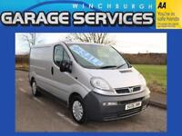 VAUXHALL VIVARO SWB GREAT CONDITION **NO VAT** WOOD LINED
