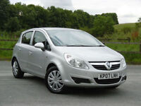 Vauxhall/Opel Corsa 1.4i 16v 2007MY Club LOW MILES 5 DOOR AIR/CON px swap