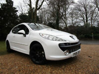 2009 Peugeot 207 1.6 VVTi 16v Sport 3dr 120 BHP PETROL HATCH 82K FSH GLASS ROOF