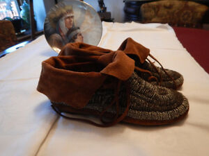 Quality Beaded Moccasins