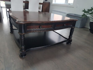Hooker Furniture Coffee Table & Matching End Tables